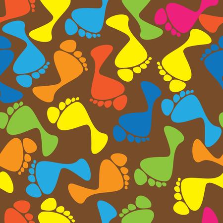 다채로운 인간의 원활한 패턴을 추적 스톡 콘텐츠 - 24167050