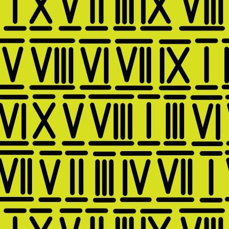 numeros romanos: n�meros romanos patr�n transparente Vectores