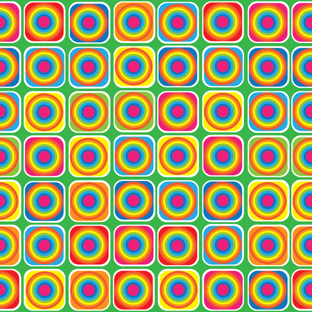 multicolor geometric ornament seamless pattern  Illustration