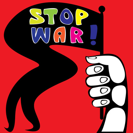 stop war poster Stock Vector - 26519217