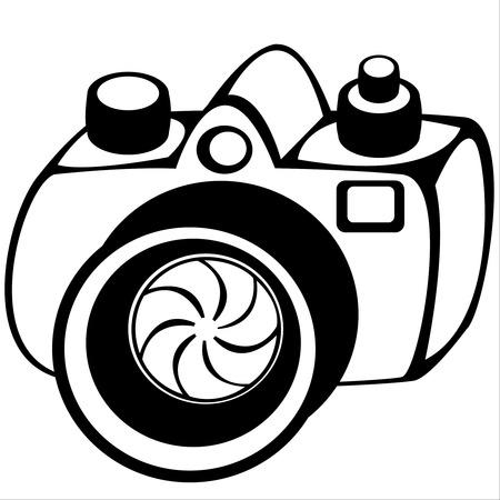 lomo: camera isolated on white background