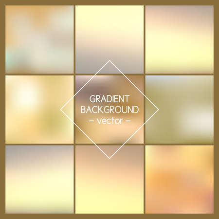 website backgrounds: Set. Blurred vector backgrounds. Backgrounds for design, website, infographic, poster, card, advertising.