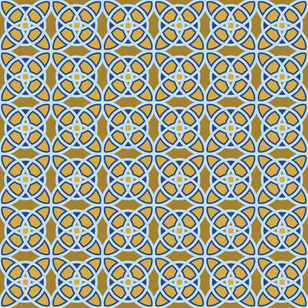 Vector seamless geometrical patterns. Decorative background for cards, illustration, poster, advertisement and web design