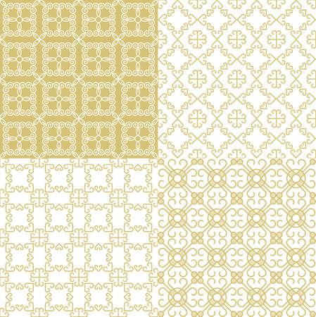 Nahtlose geometrische Muster. Dekorativen Hintergrund für Karten, Abbildung, Plakat und Webdesign. Illustration