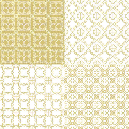 hintergrund: Nahtlose geometrische Muster. Dekorativen Hintergrund für Karten, Abbildung, Plakat und Webdesign. Illustration