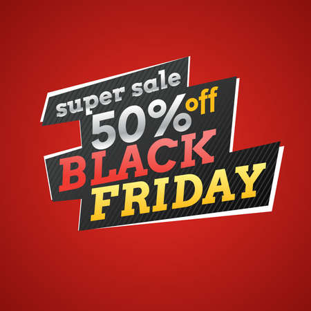 advertise: Black friday. Big sales. Trendy, modern poster to advertise your goods. Vector illustration. Illustration