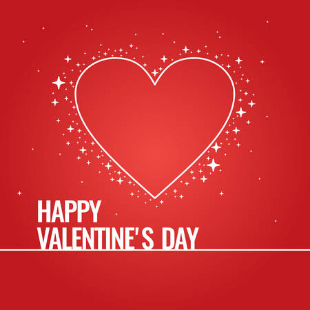 14: Valentines day. February 14. Original and conceptual poster with a love message.