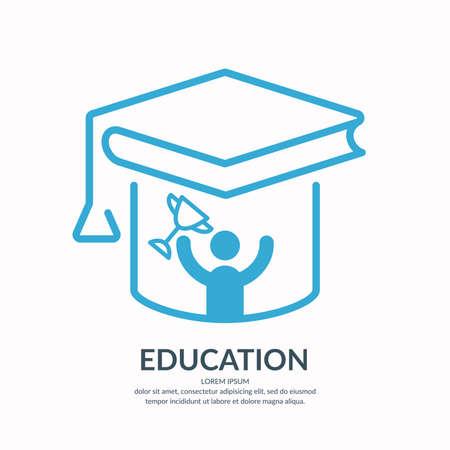 vocational training: Education vector illustration.