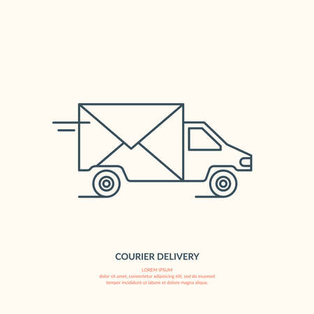 courier: Courier delivery.