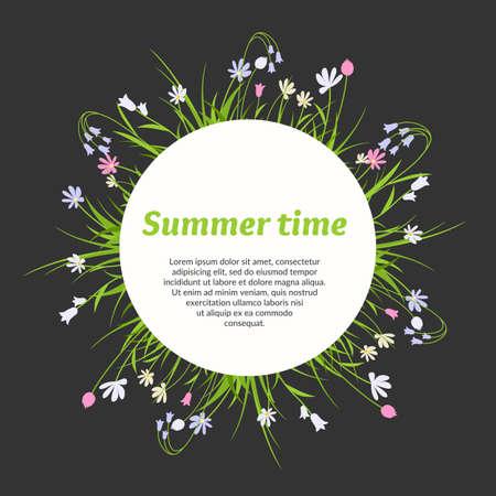 arts and crafts: Vegetation background. Elements for design, greeting cards, poster. Plants, flowers, berries, leaves. Background for celebrations, holidays, arts, crafts, scrapbooks.