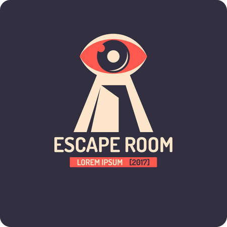 Real-life room escape and quest game logo.