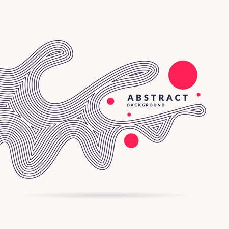 Bright abstract illustration.