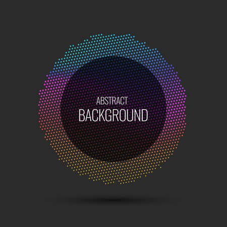 Vector abstract background. Illustration suitable for design.