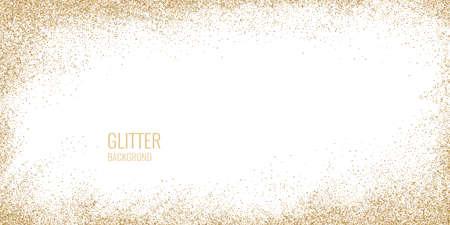 Affiche lumineuse avec une explosion ou un nuage de particules scintillantes sur fond blanc. L'illustration vectorielle peut être le modèle de votre conception.