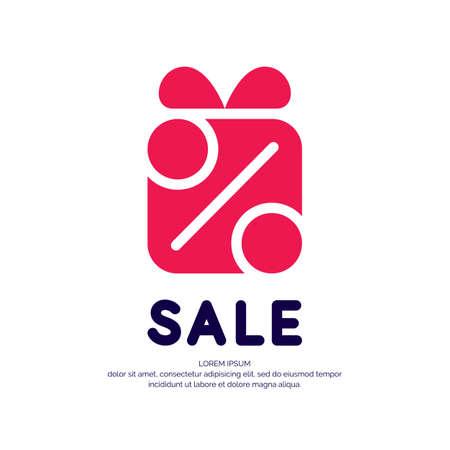 Original concept sing for discount sale.