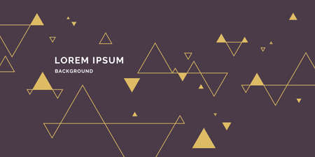 Modern abstract geometric background. Vector template for the presentation.