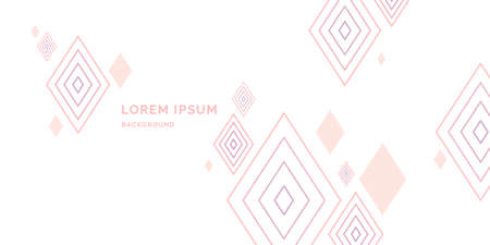 Modern abstract geometric background, template for the presentation
