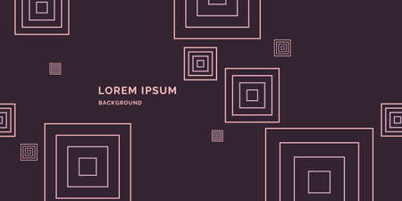 Modern abstract geometric  template for the presentation