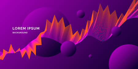 Abstract background with geometric shapes. template Illustration