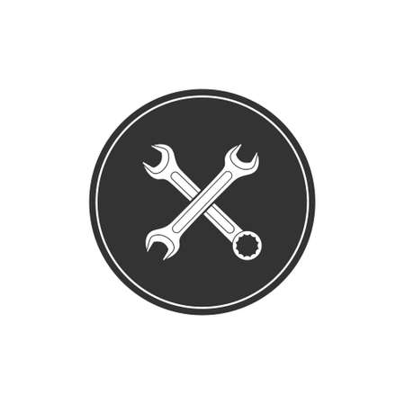The crossed spanners icon. Construction and repair companies.