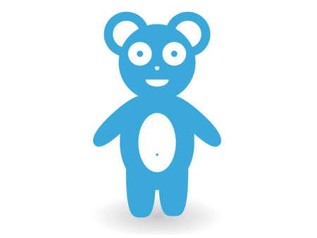 slope: Bear cub Illustration