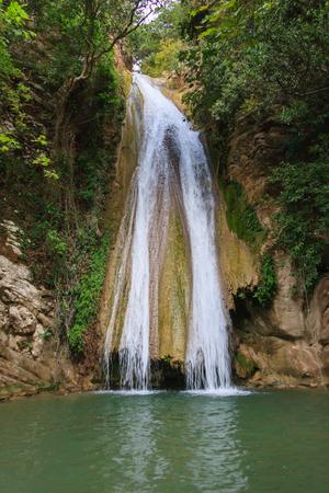 Cachoeira do Neda, Grécia Foto de archivo - 94386576