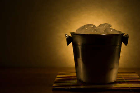 special steel: cooler with ice