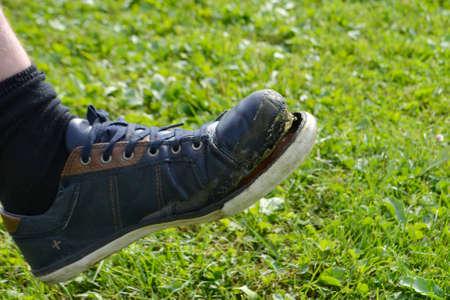 Ragged sneaker