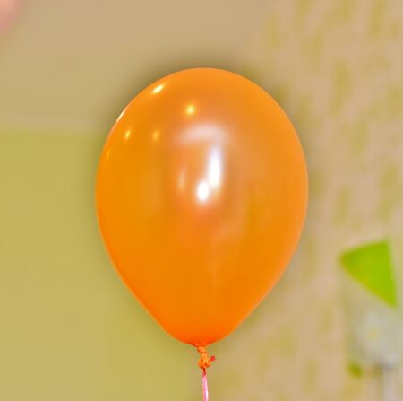 Orange Balloon Stock Photo - 41183362