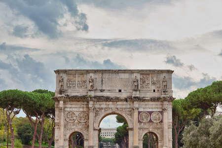 Triumphal Arch of Titus Arco di Tito
