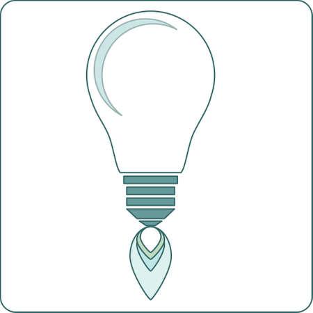 Start-up light Bulb Stock Vector Vector