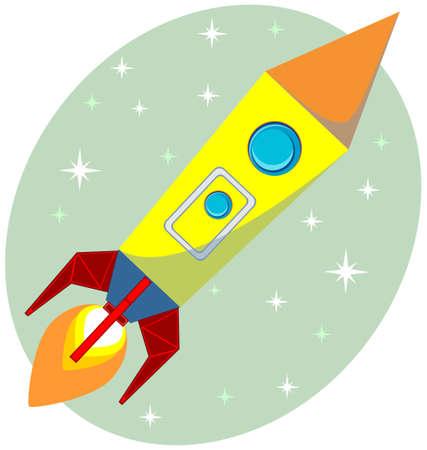 Flight of the Space Rocket, Vector Vector