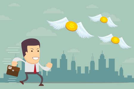 with no money: Businessman has no money