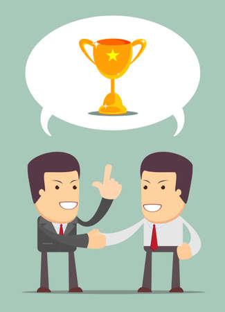 financial adviser: financial adviser having a talk with a men