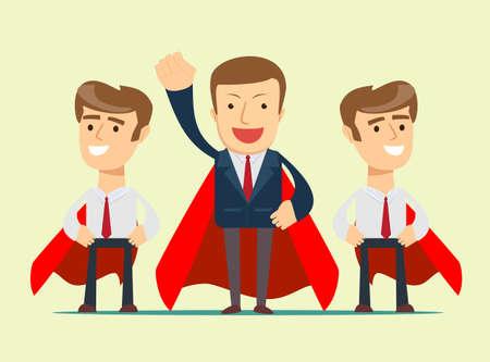 Super business team Illusztráció