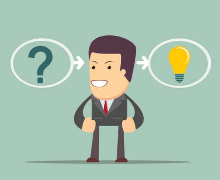 incident: thinking or problem solving business concept. the process of finding a solution.