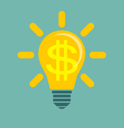 Idea to make money Illustration