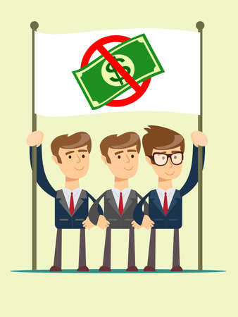 Rejection money, concept. Stock Photo