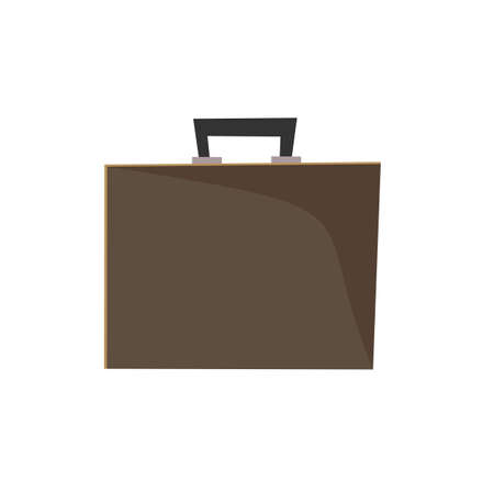 briefcase icon. business office suitcase Ilustracja