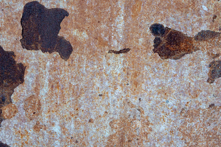 Dark worn rusty metal texture background. Rust texture  on  metal sheet abstract background concept