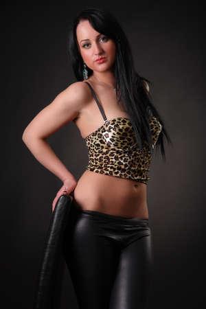 beautiful sexy brunette Stock Photo - 16444194