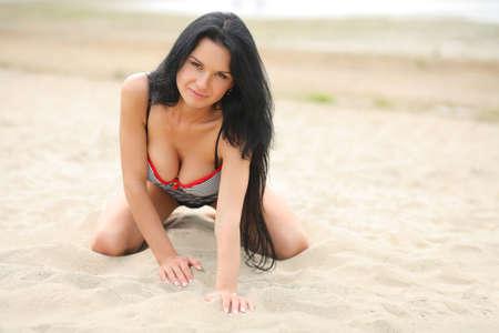 junge nackte m�dchen: erotische M�dchen am Strand