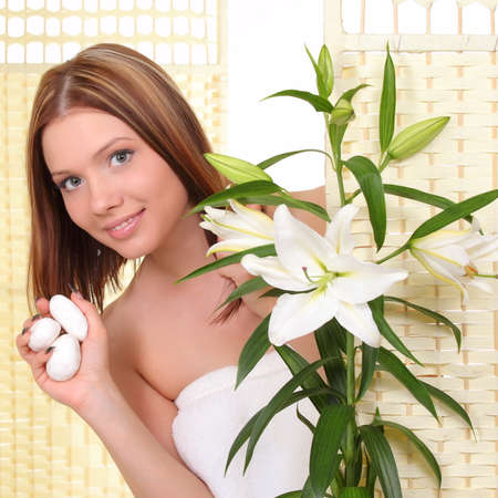Spa Woman. Beauty portrait. Stock Photo - 23965885
