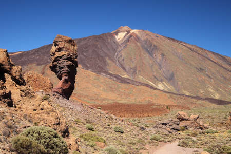 Finger of God rock , volcano Teide National Park photo