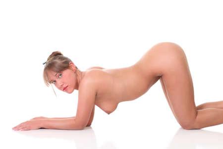 nude yoga: Nudity Woman