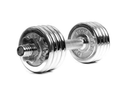 Foto chrome dumbbells photo
