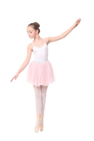young girl ballerina Standard-Bild
