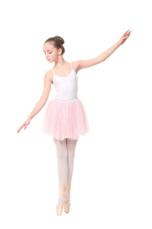 young girl ballerina Фото со стока