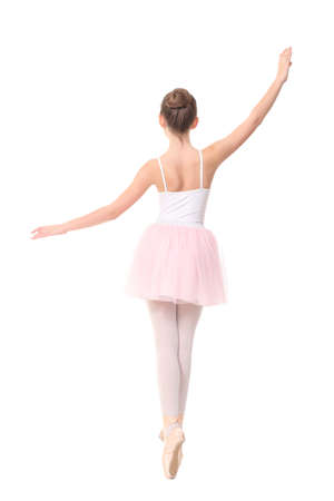 petti: young girl ballerina Stock Photo