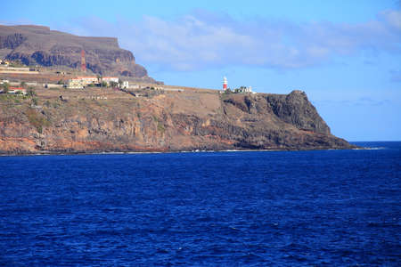 cano: the beauty landscape from la gomera in Canary Islands, Spain
